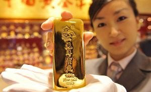 Asia on the crest of the gold rush