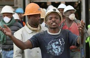 The South African strike will affect gold