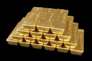 The price of gold is close to the record