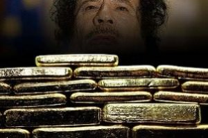 Gaddafi can bribe tribes with his gold