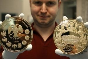 Russians buy gold due to falling stocks